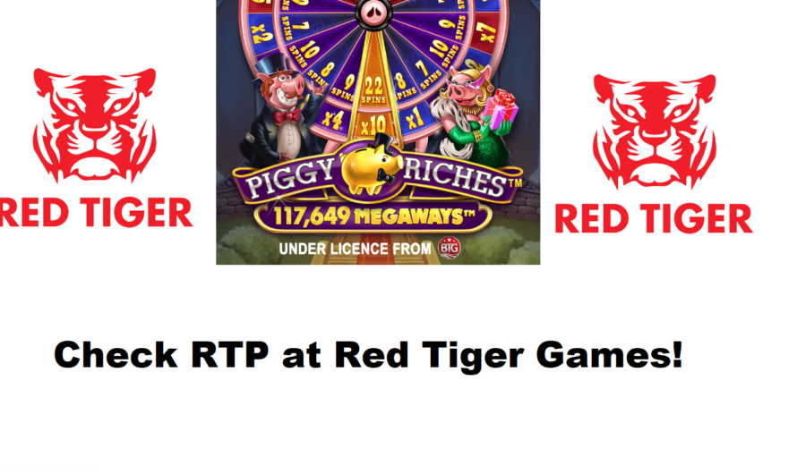 We check the RTP for Piggy Riches Megaways from Red Tiger