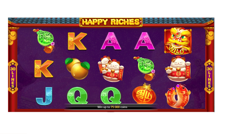 Happy Riches from  NetEnt Game Review