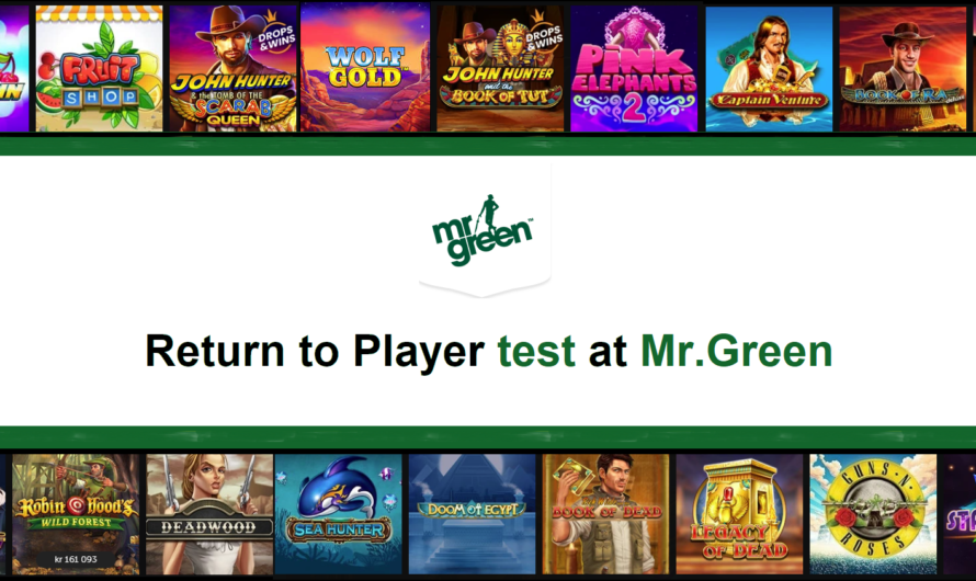 Return to Player test at Mr.Green