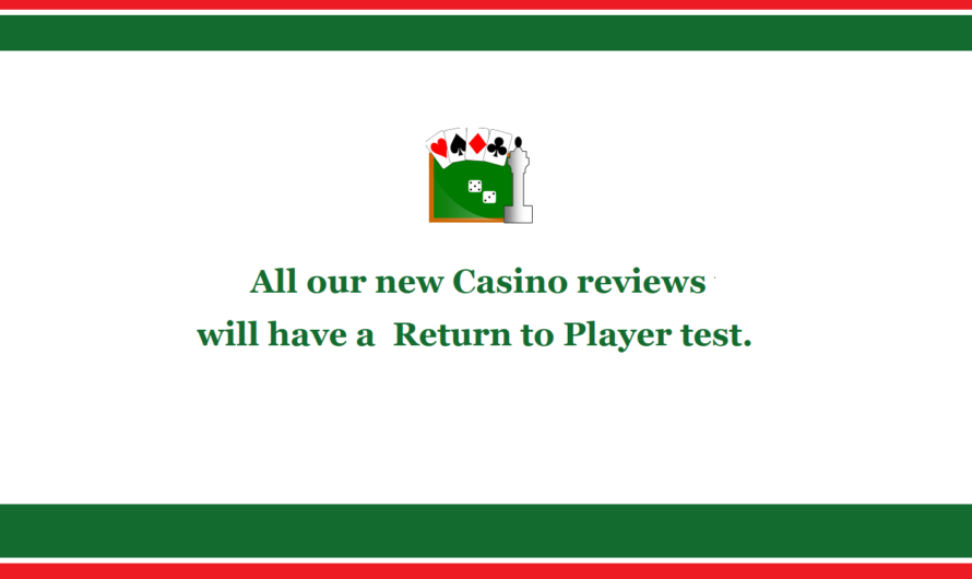 RTP test for new Casino Reviews