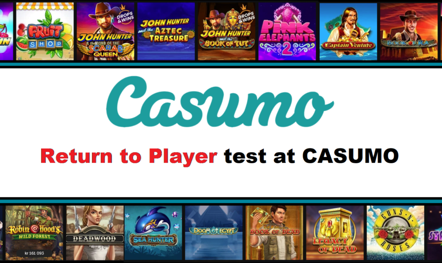 Return to Player test at CASUMO