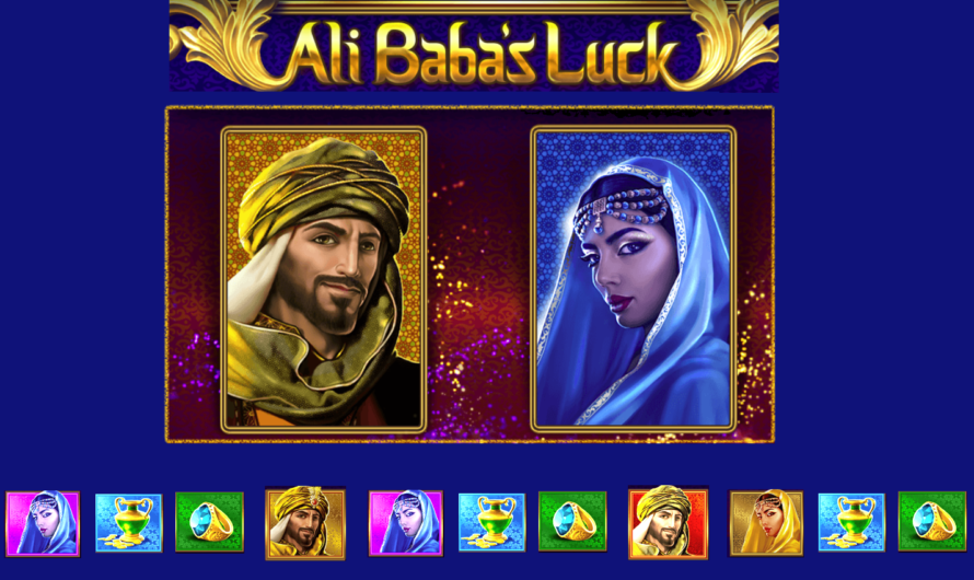Ali Baba's Luck from Red Tiger