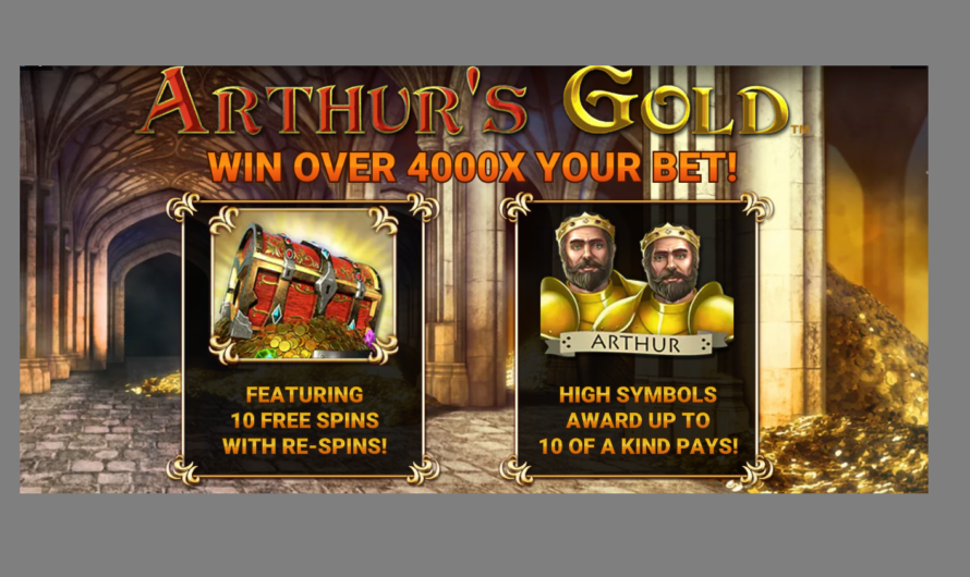 Arthur's Gold from Gold Coin Studios