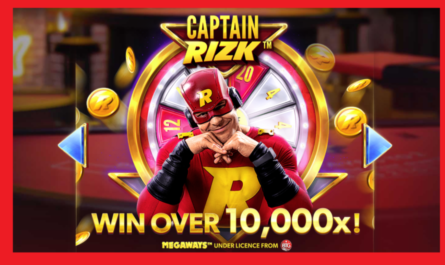 Captain Rizk Megaways from Red Tiger