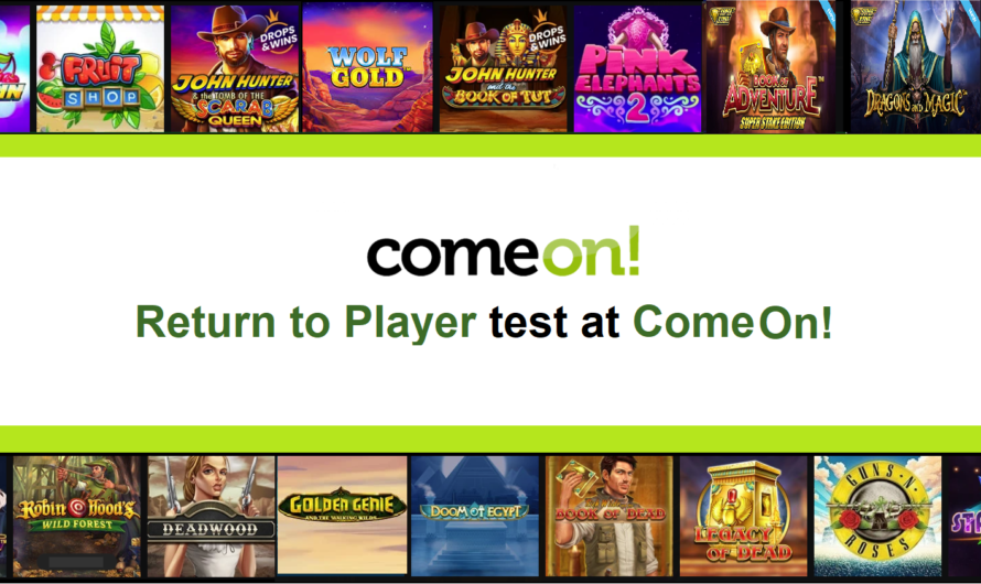 Return to Player test at ComeOn