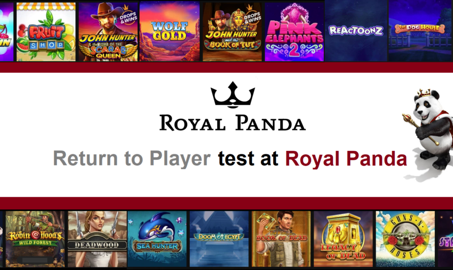 Return to Player test at Royal Panda