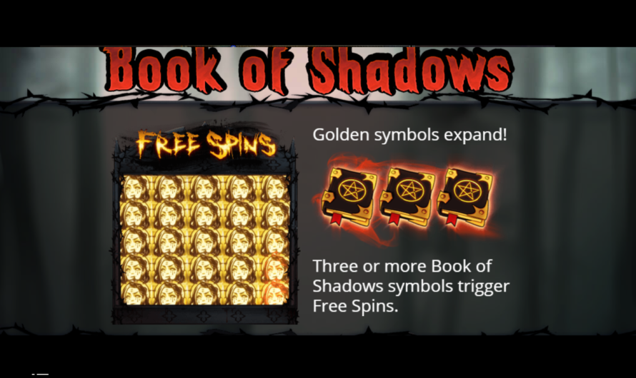 Book of Shadows from No Limit City