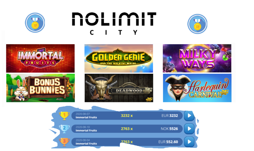 No Limit City Replay Bonus