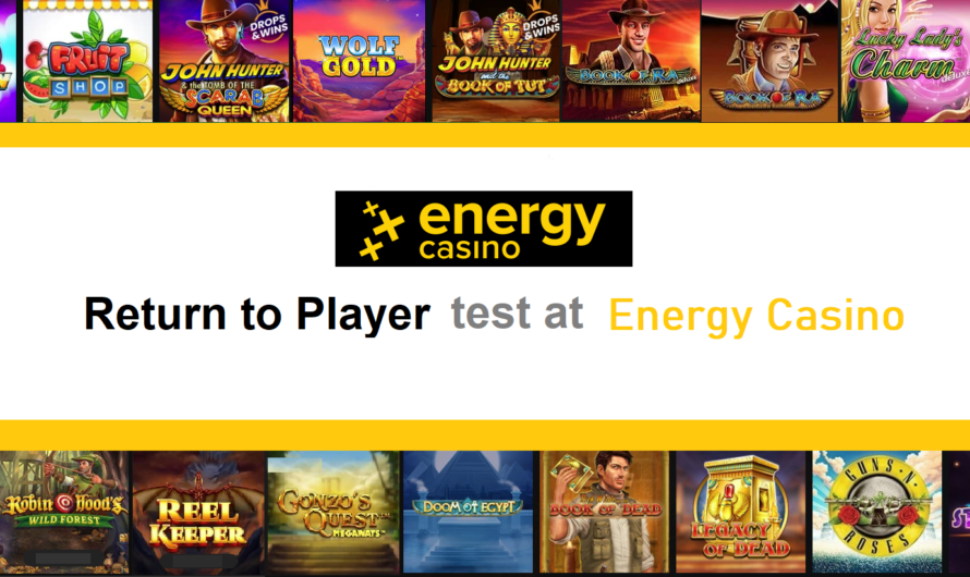 Return to Player test at Energy Casino