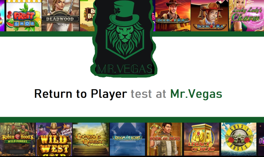 Return to Player test at Mr.Vegas