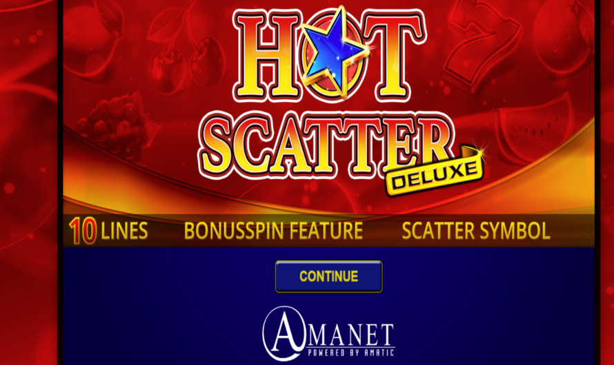 Hot Scatter Deluxe from Amatic