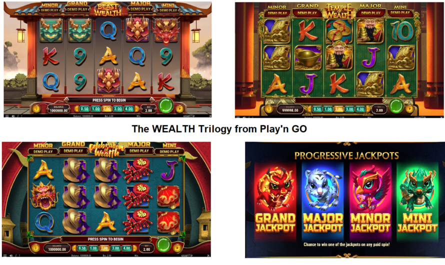 The Wealth Trilogy from Play'n GO