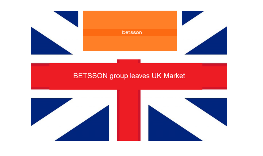 Betsson Group leaves UK market