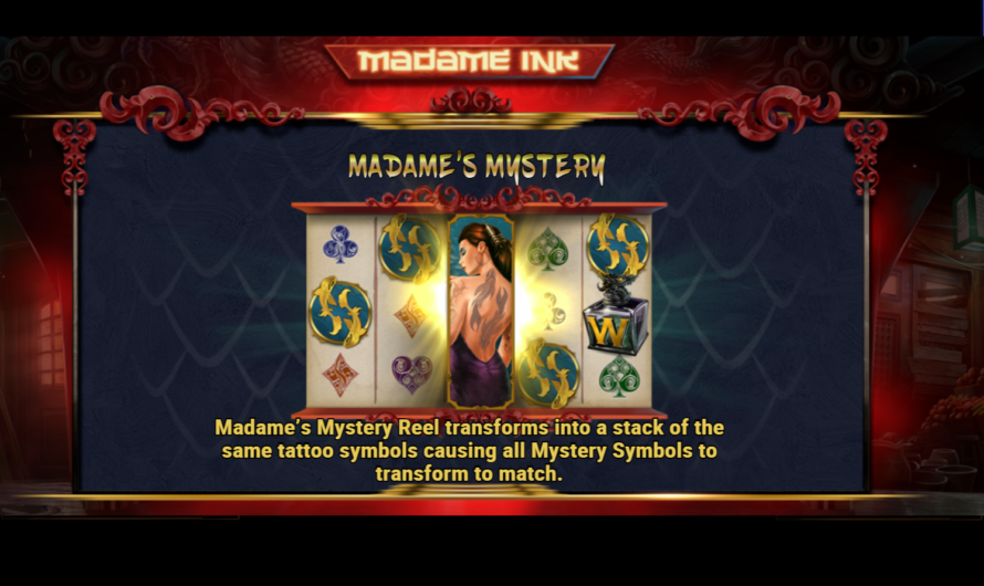 Madame Ink from Play'n GO