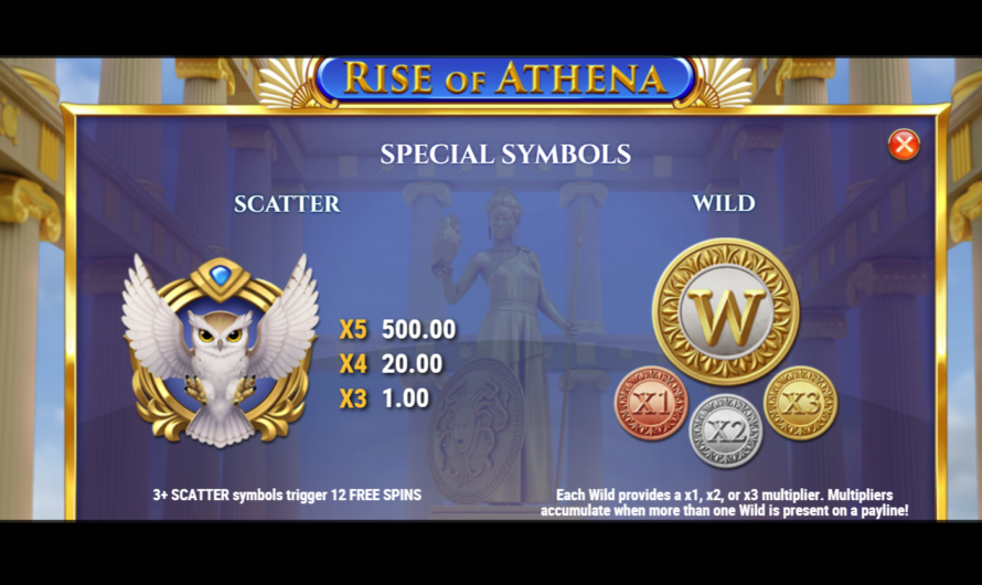 Rise of Athena from Play'n GO