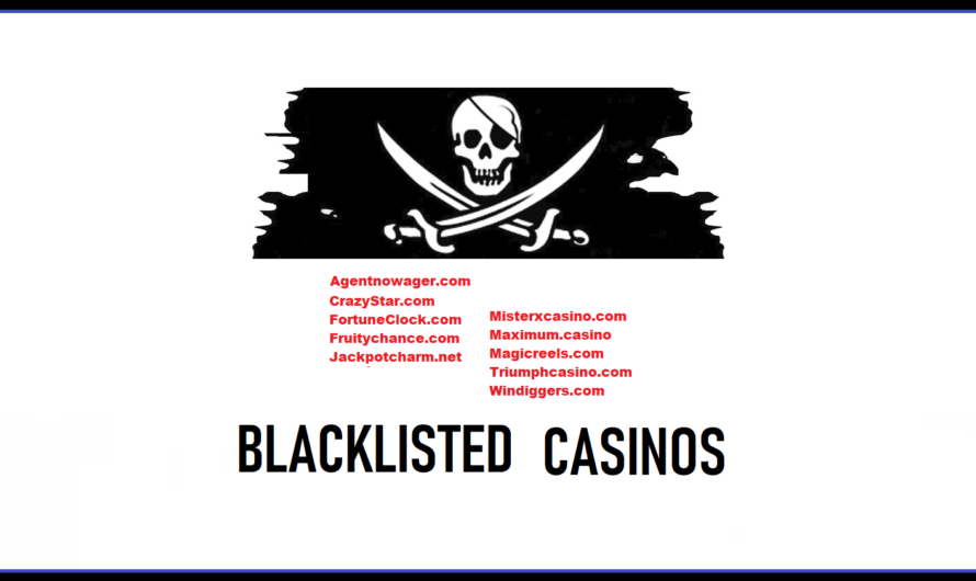More Scam Casinos Blacklisted