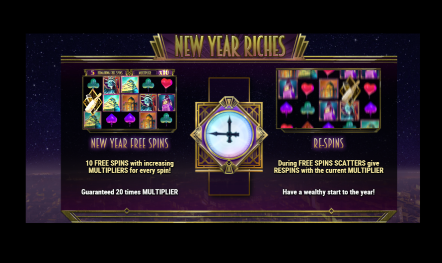 New Year Riches from Play'n GO