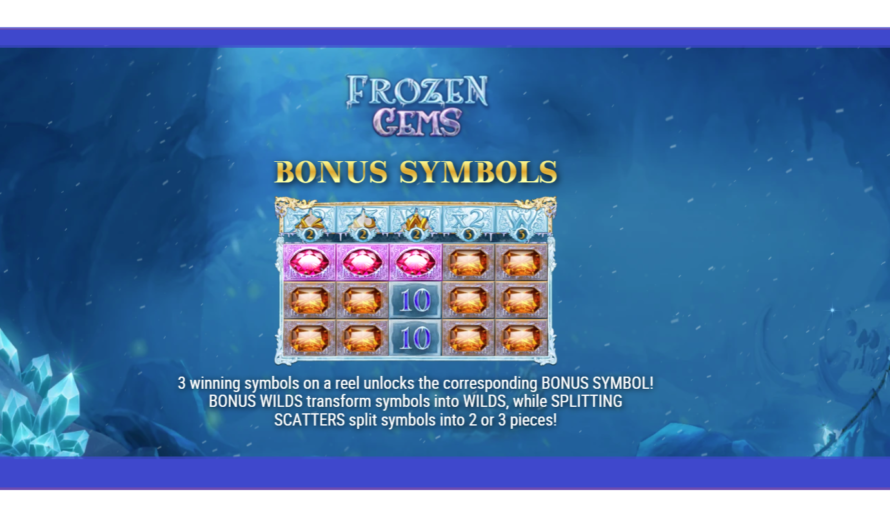 Frozen Gems from Play'n GO