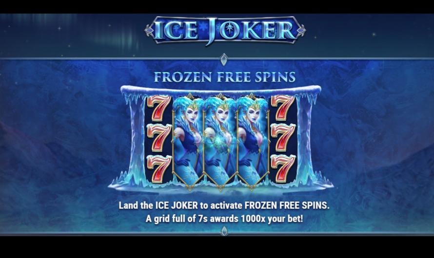 Ice Joker from Play'n GO