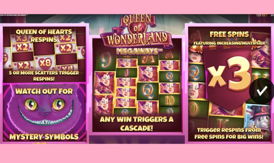 Queen of Wonderland from iSoftBet