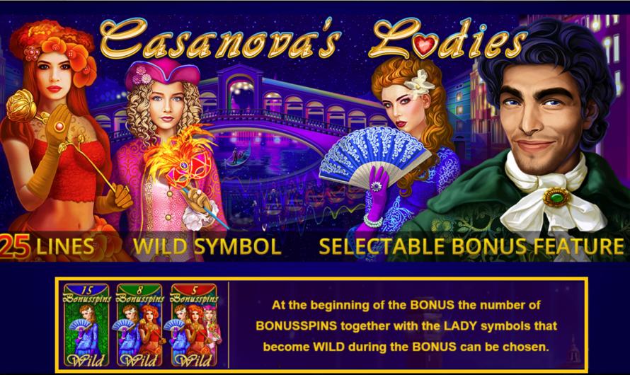 Casanova's Ladies from Amatic