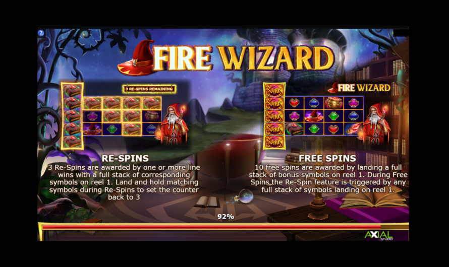 Fire Wizard from Axial Studios