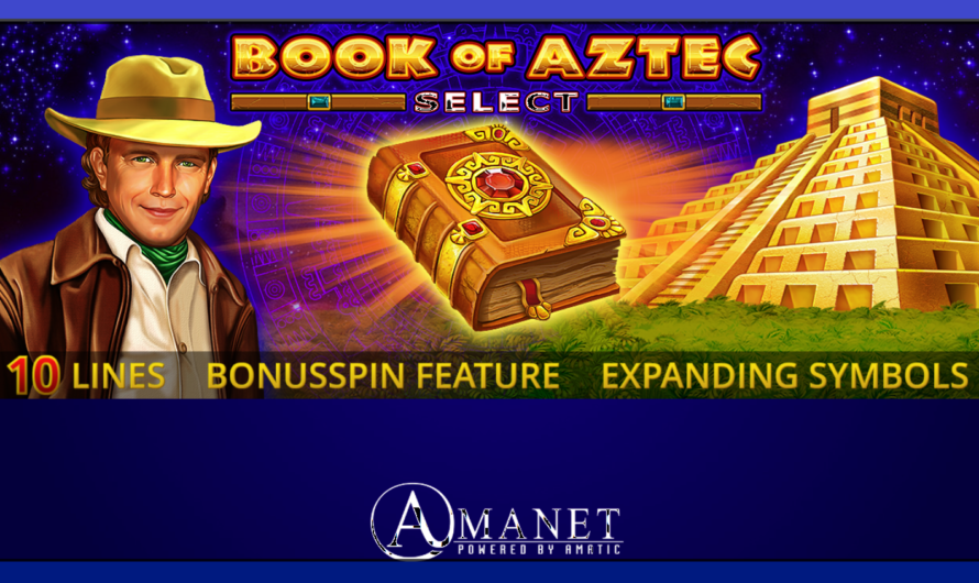 Book of Aztec Select from Amatic