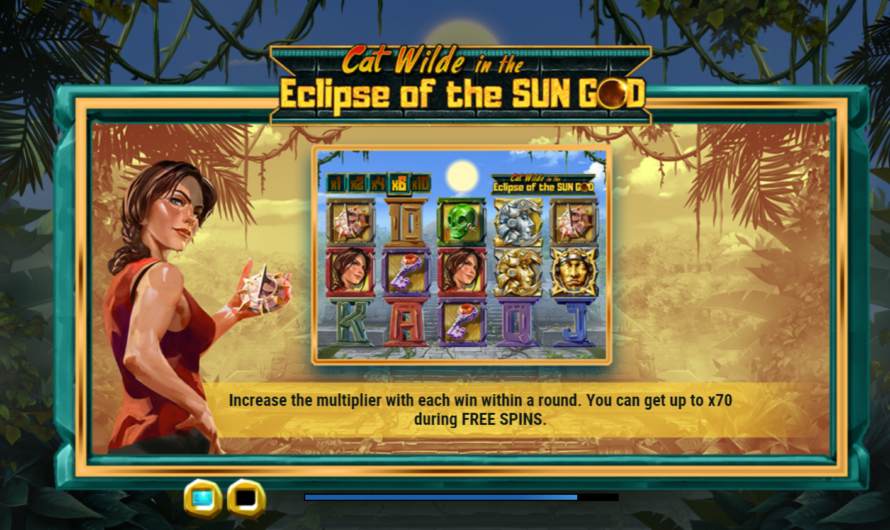 Cat Wilde in the Eclipse of the Sun God from Play'n GO