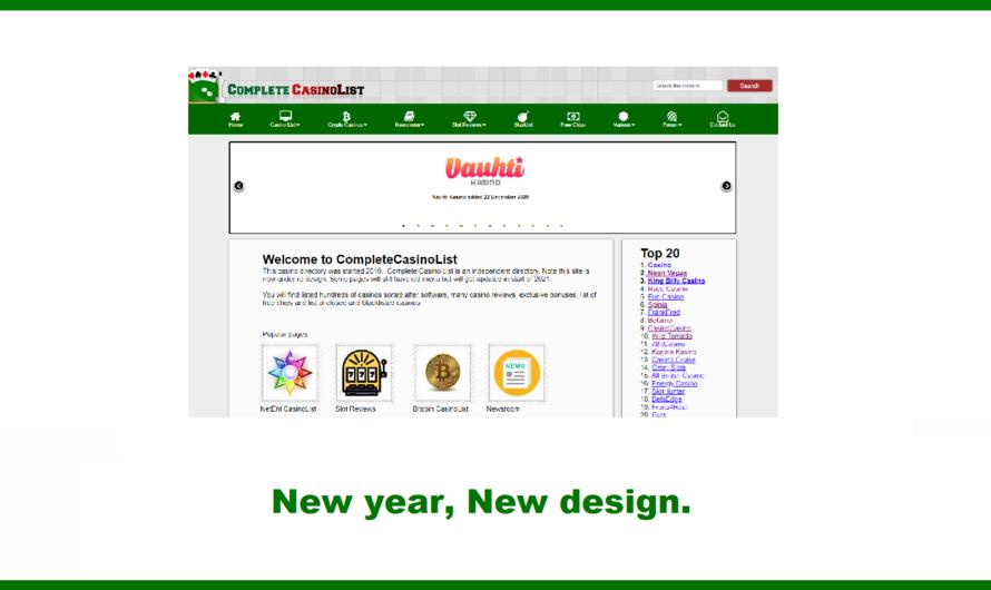 New year New Design