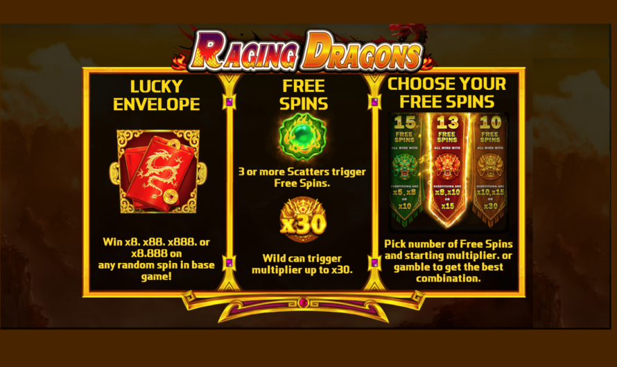 Raging Dragons from iSoftBet