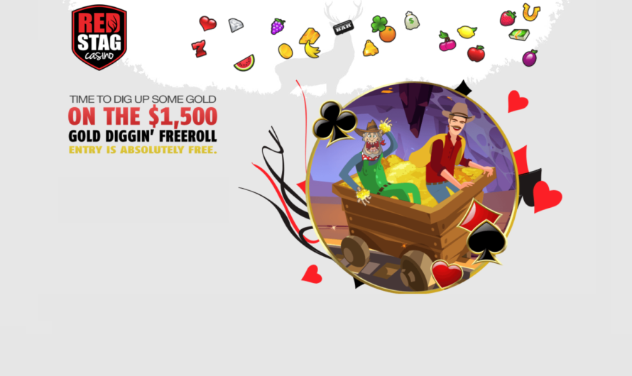Gold Diggin' Freeroll at Red Stag