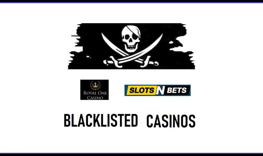 Royal Oak and Slot'n Bets added to Blacklist