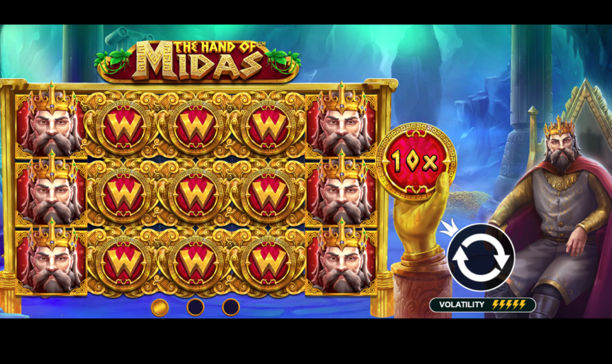Hand of Midas from Pragmatic Play