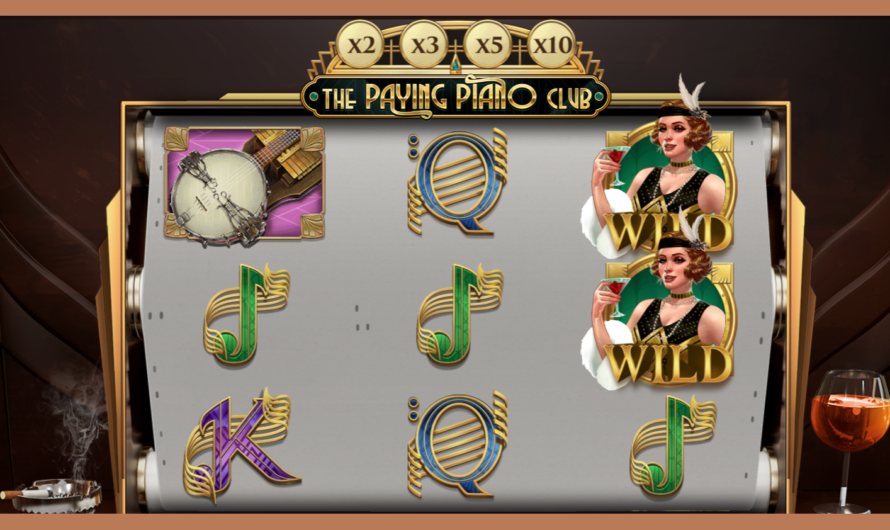 The Paying Piano Club from Play'n GO