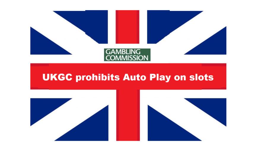 UKGC prohibits Auto Play on Slots