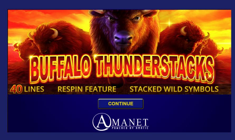 Buffalo Thunderstacks from Amatic