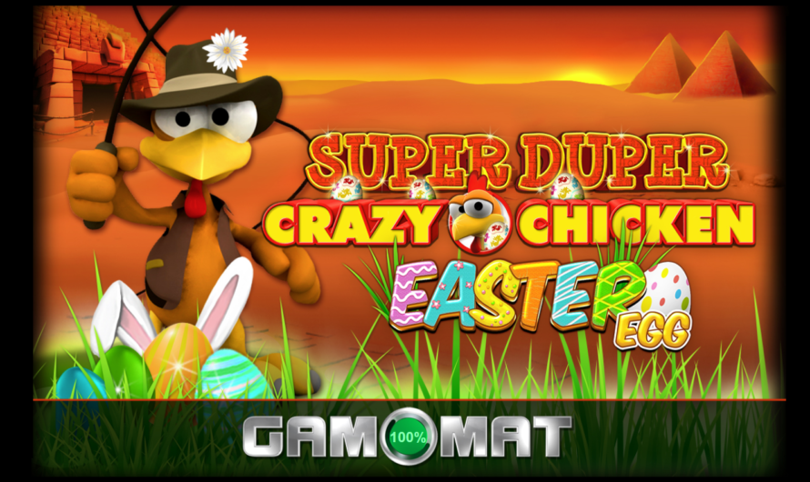 Crazy Chicken Easter Egg from Gamomat