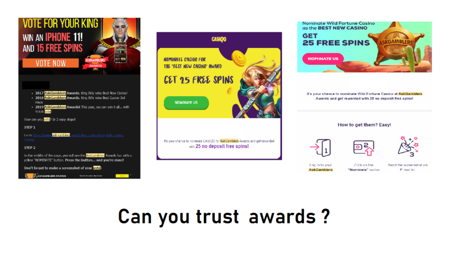 Can you trust awards?