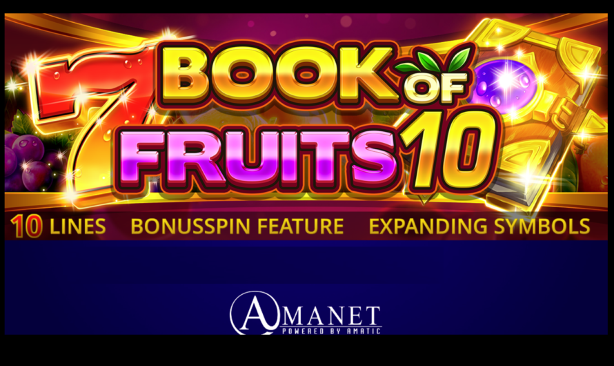 Book of Fruits 10 from Amatic