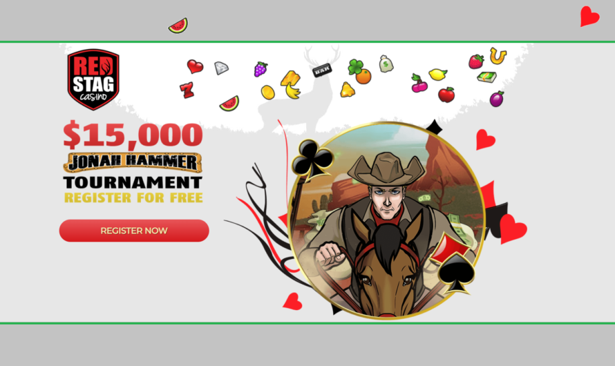 Red Stag – Jonah Hammer $15.000 Freeroll