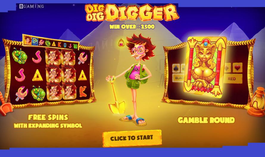 Dig Dig Digger from BGaming