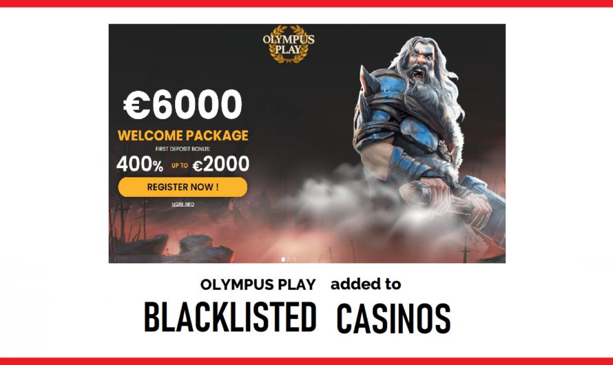 Olympus Play Blacklisted