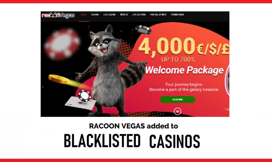 Racoon Vegas Blacklisted