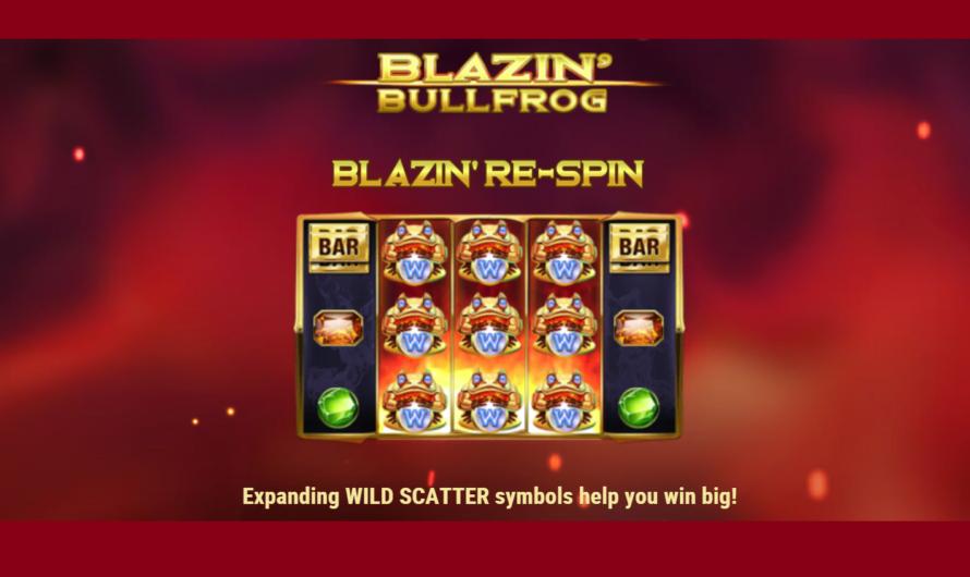 Blazin' Bullfrog from Play'n GO