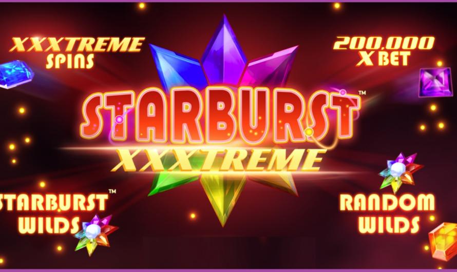 Starburst XXXTREME from NetEnt