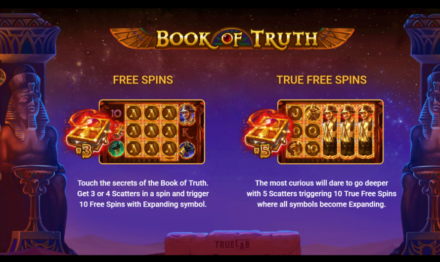 Book of Truth from TrueLab