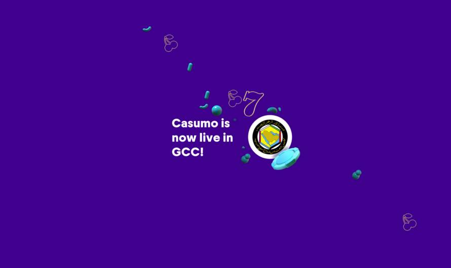 Casumo is live in the Gulf