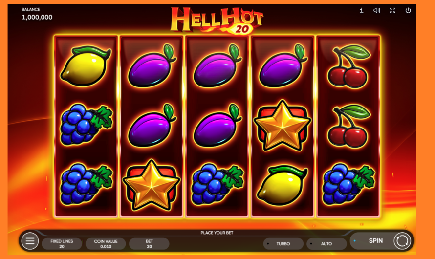 Hell Hot 20 from Endorphina